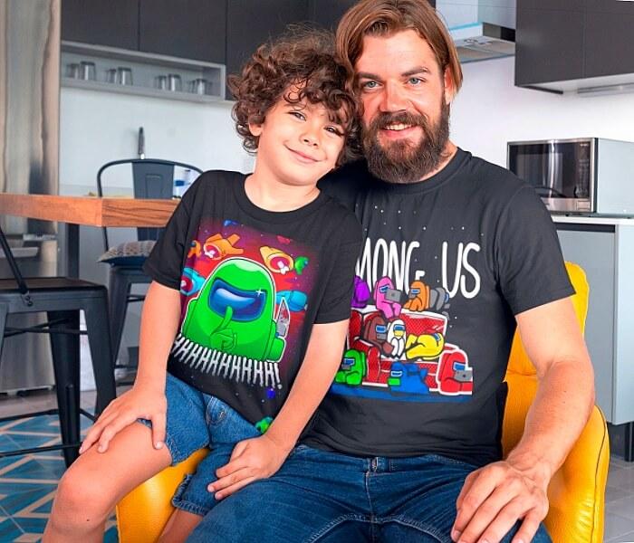 חולצות לילדים - אמונג אס, בראול סטארס