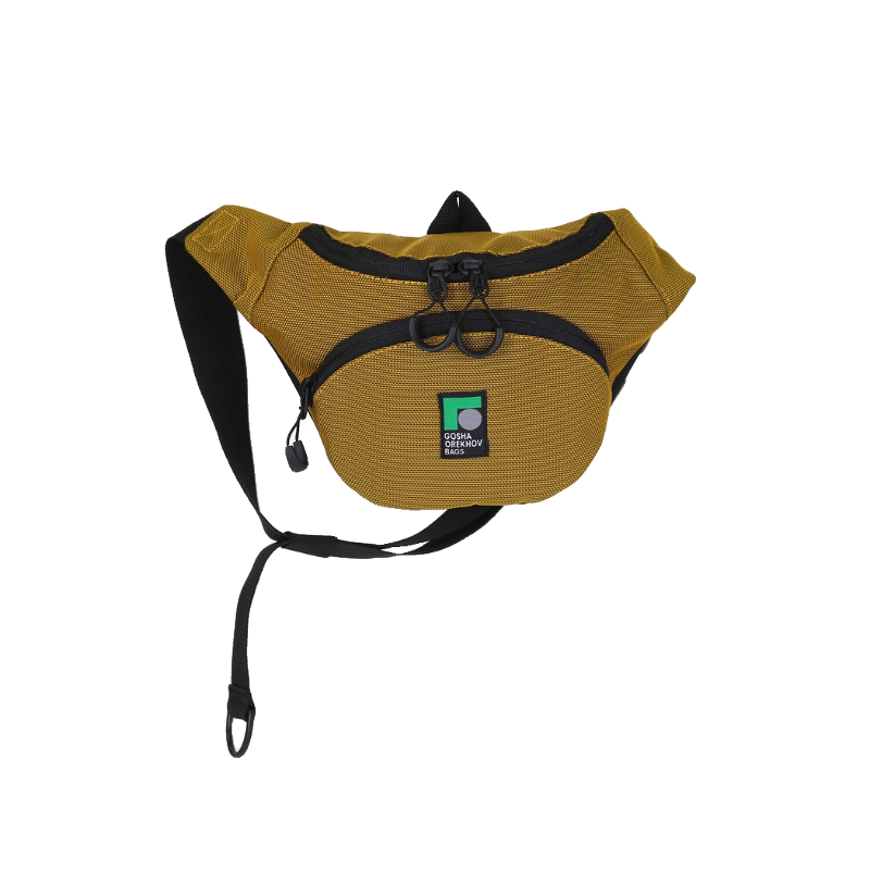 Special gold pouch - made of purple beard
